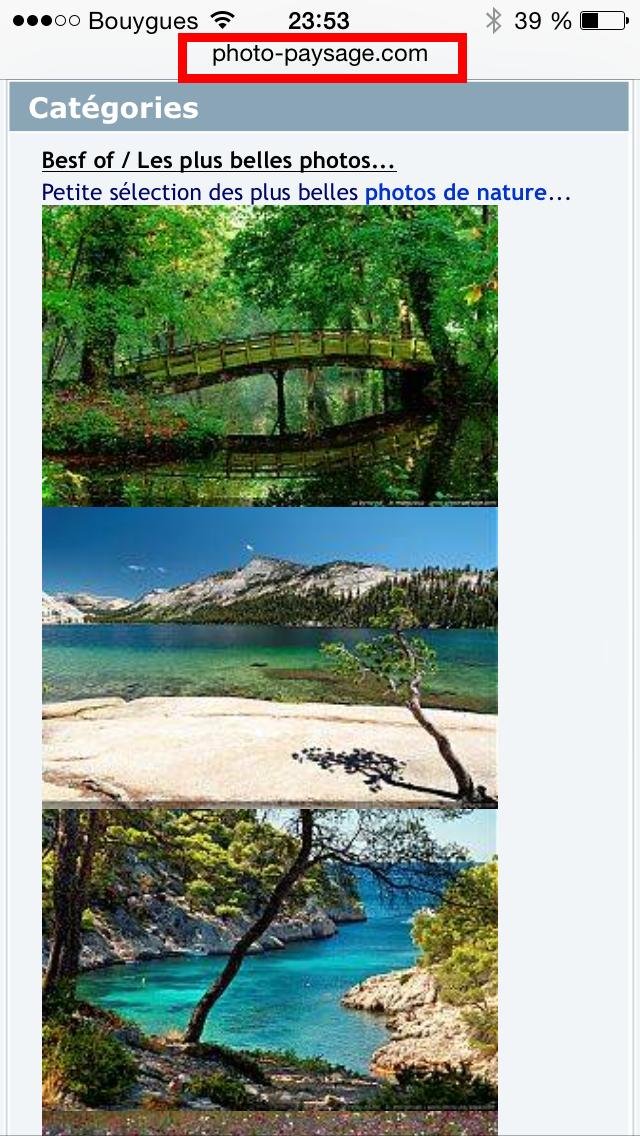 Astuce mettre une image en fond d 39 cran sur votre iphone for Architecture qui se fond dans le paysage