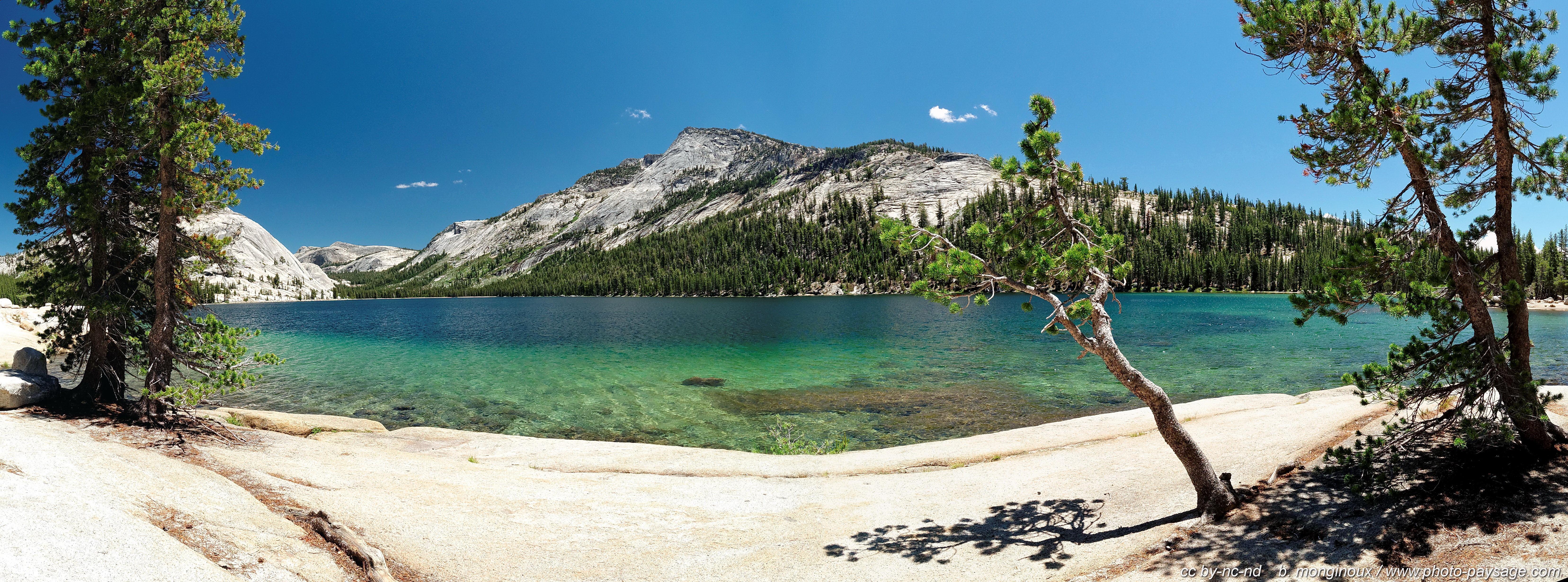 Photos Panoramiques Les Berges Du Lac Tenaya Photo Paysage Com Photo Paysage Com
