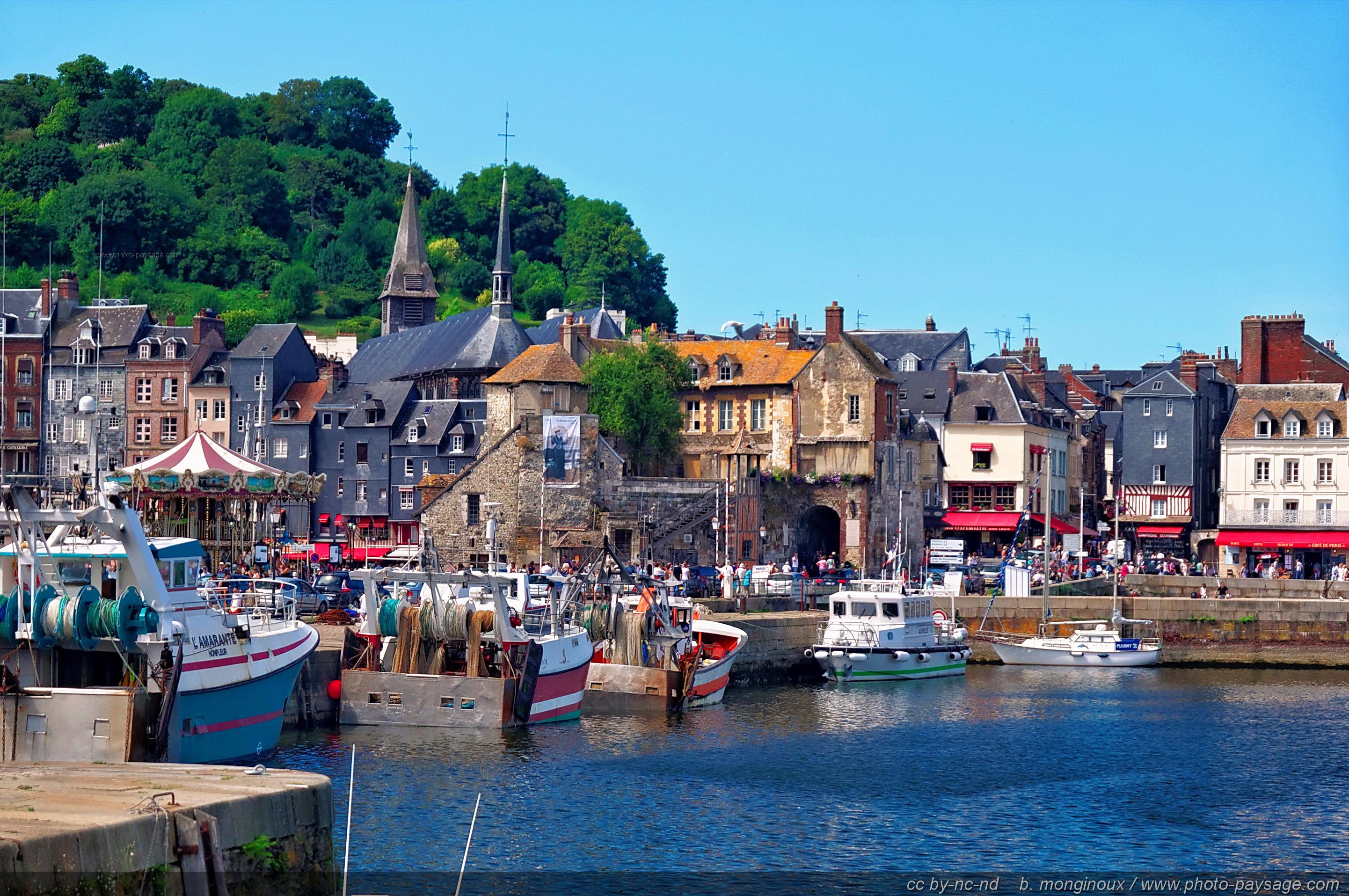 Normandie Bateaux De Peche A Honfleur Photo Paysage Com Photo Paysage Com
