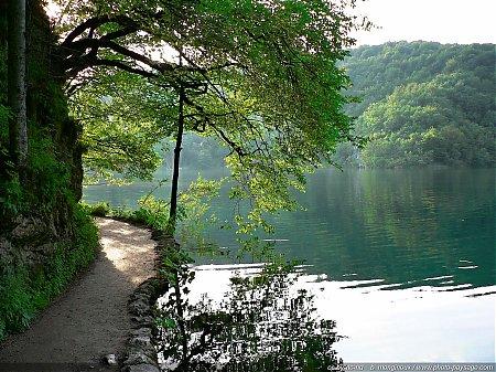 Calme et sérénité dans les lacs supérieurs