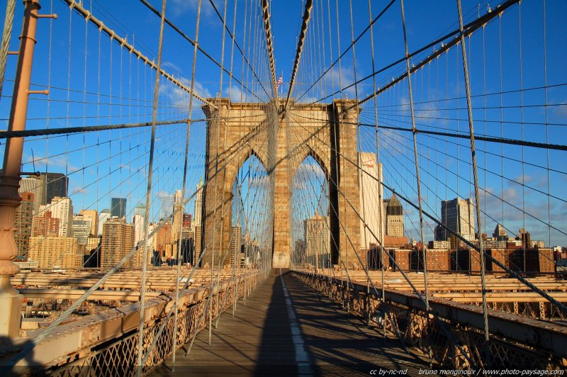 normal nyc pont de brooklyn et manhattan Les beaux ouvrages d'art : Le pont de Brooklyn
