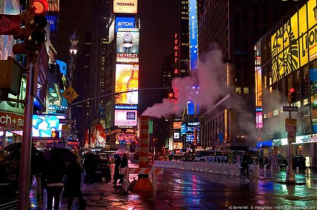 Time Square la nuit