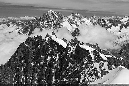 Célèbre Massif du Mont-Blanc - PHOTO-PAYSAGE.COM PB15