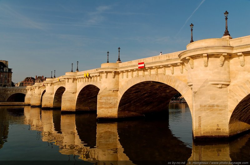 normal Paris voies sur berge  18 The fine works of art: the Pont Neuf