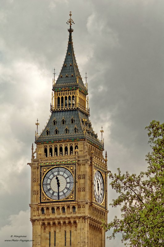 Big Ben - Londres, Royaume-Uni