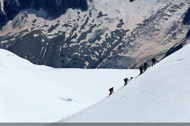 Cordée - [Alpes, Massif du Mont Blanc]