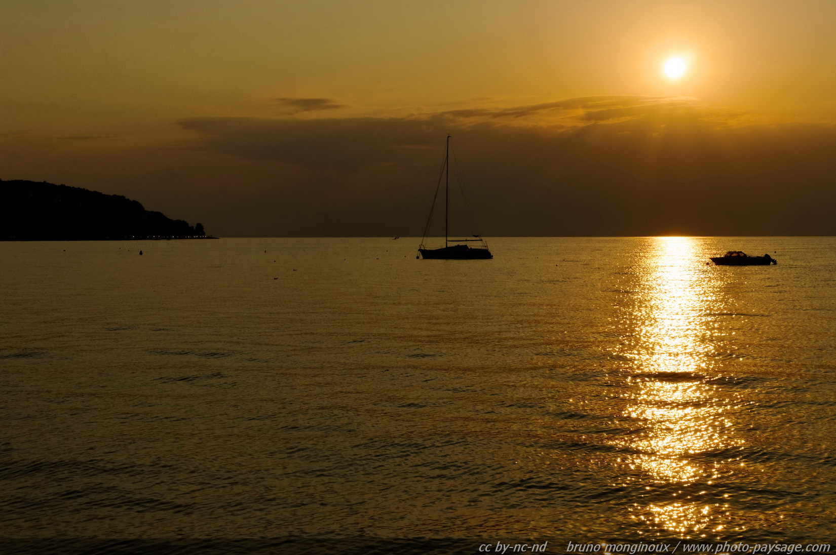Bateau le blog de photo - Fond ecran coucher de soleil sur la mer ...