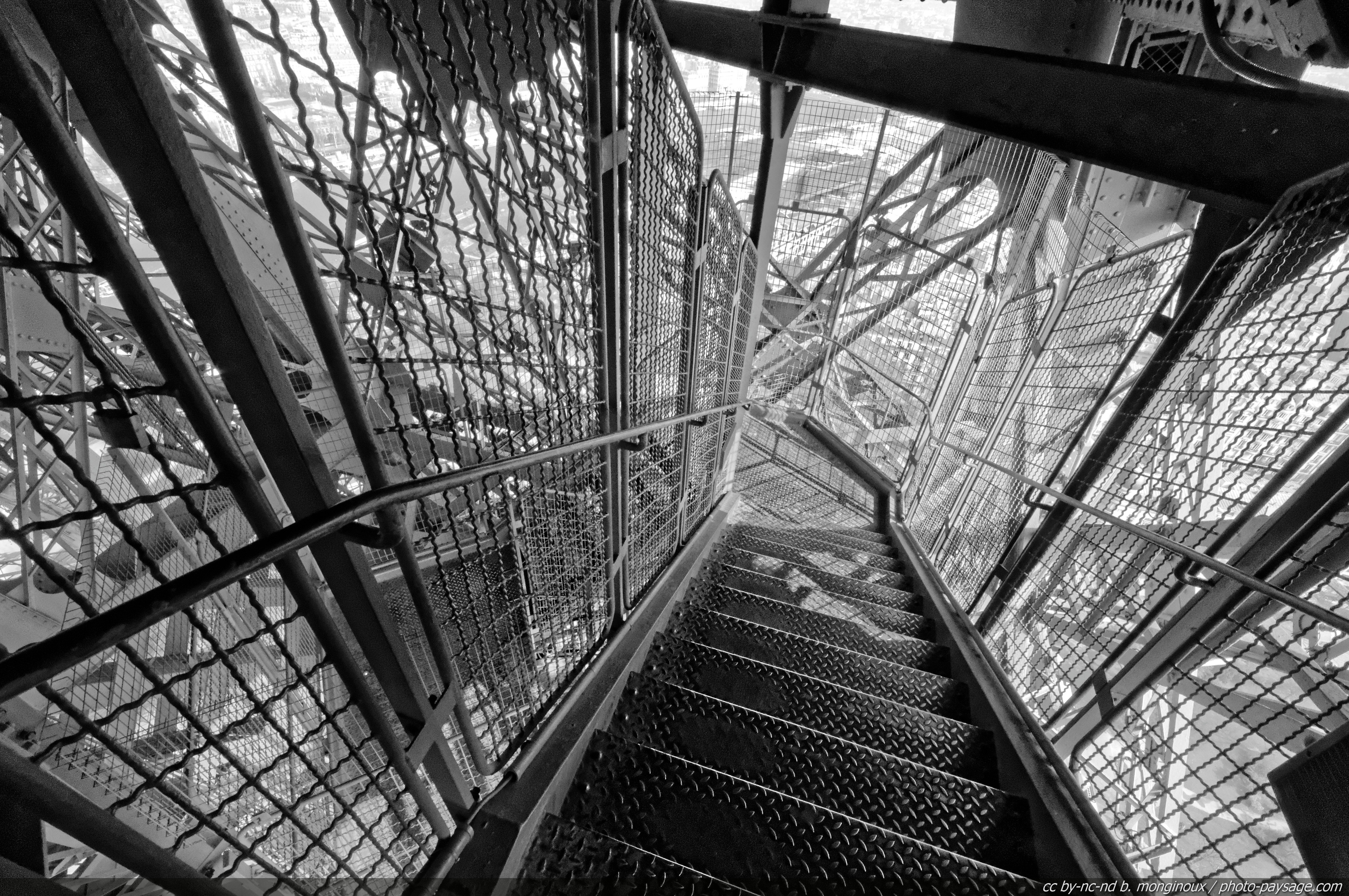 Tour eiffel le blog de photo for Interieur noir et blanc