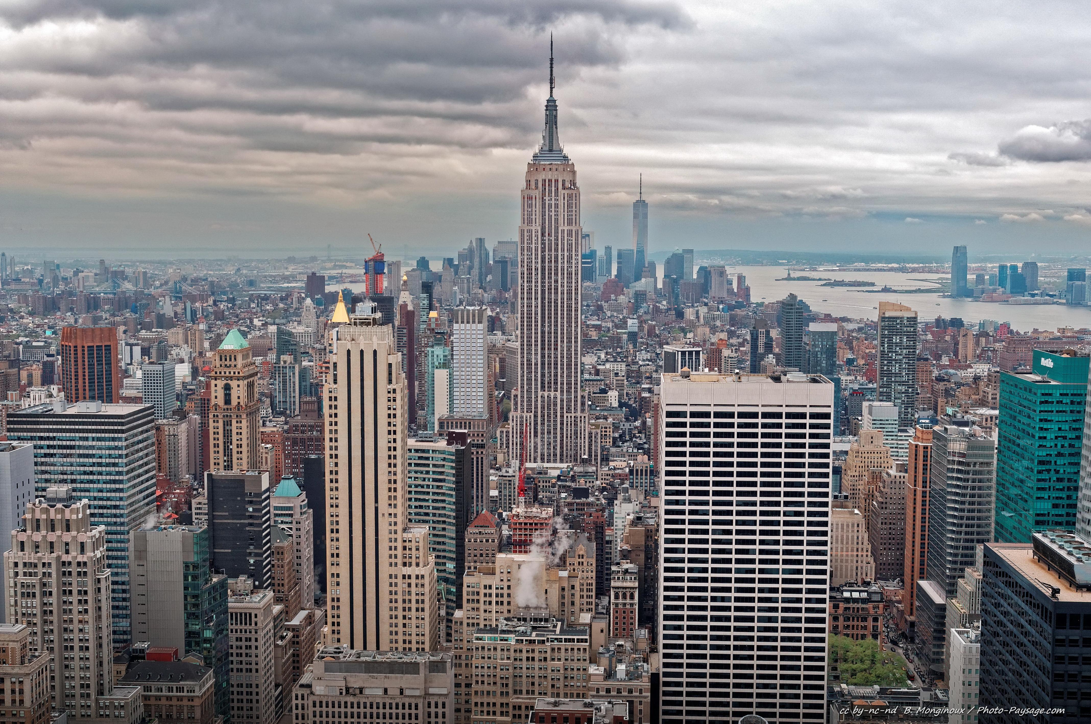 Empire State Building Ou Rockefeller Center