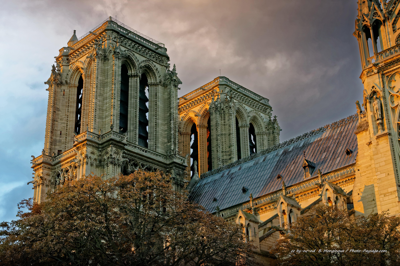 Notre dame de paris nouvelles photos de la cath drale for Paris paysage