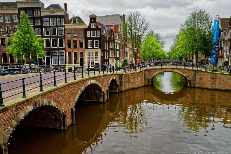 Balade le long des canaux d Amsterdam -06 - Amsterdam, Pays-Bas