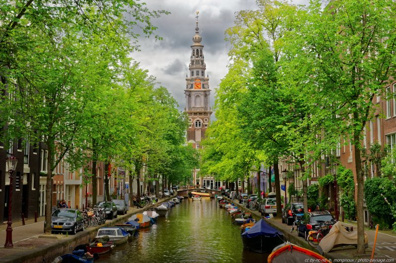 Balade le long des canaux d Amsterdam -11 - Amsterdam, Pays-Bas