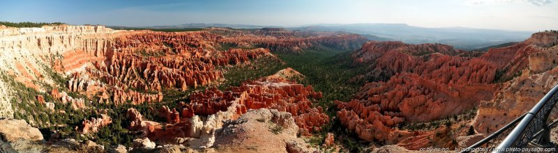 Bryce Point : vue panoramique - Bryce Canyon National Park, Utah, USA