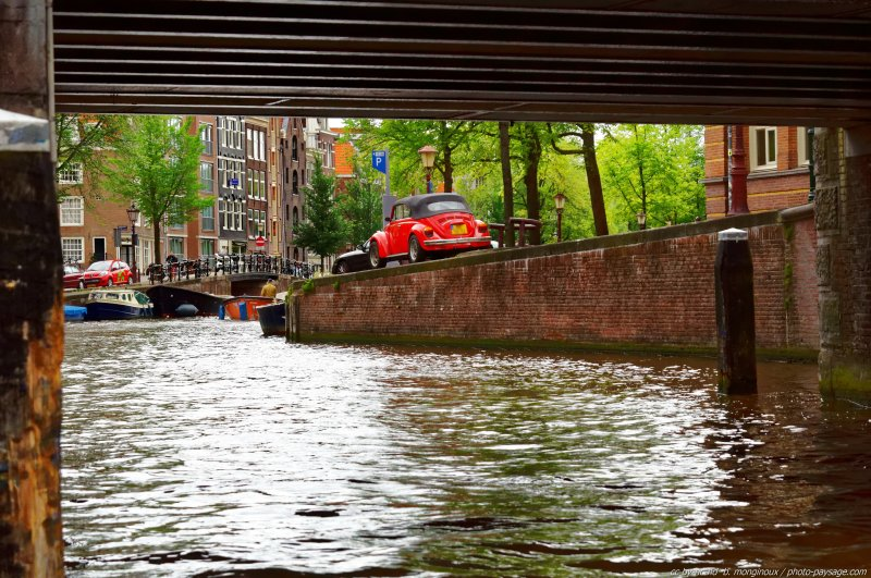 Canaux d'Amsterdam -01 - Amsterdam, Pays-Bas