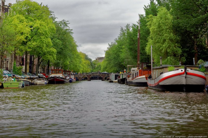 Canaux d'Amsterdam -02 - Amsterdam, Pays-Bas
