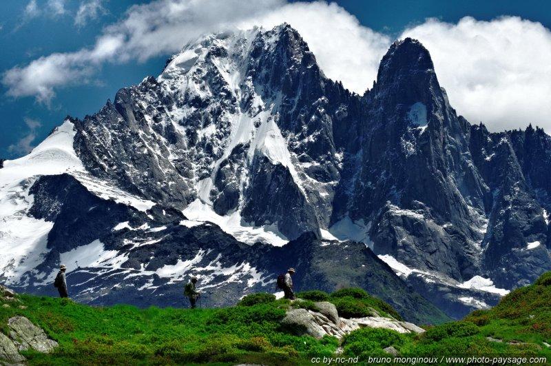randonn u00e9e  u00e0 la montagne
