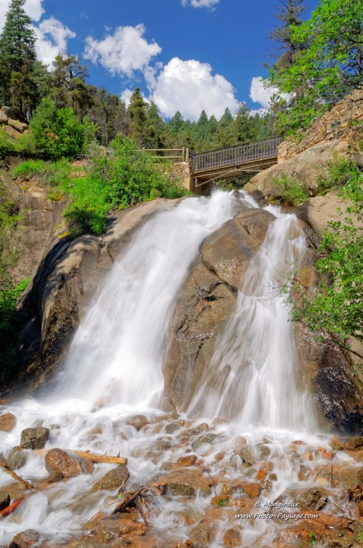 Helen Hunt Falls - Colorado Springs, Colorado, USA