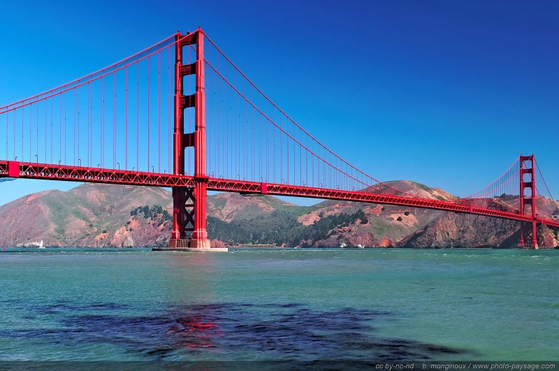 Le Golden Gate - San Francisco, Californie, USA