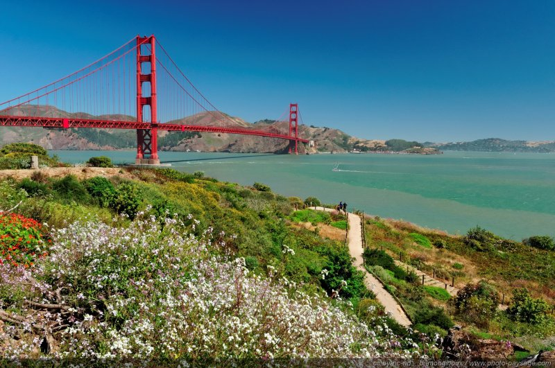 San Francisco, le Golden Gate bridge - San Francisco, Californie, USA