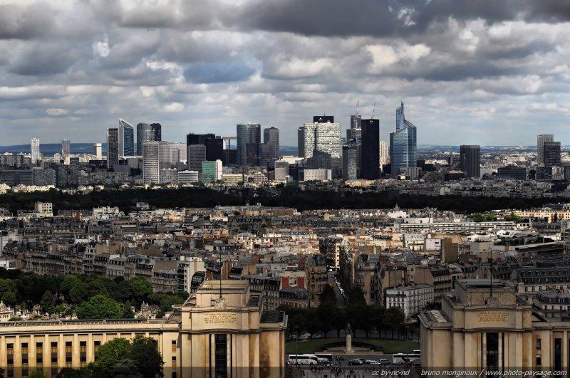 Paysage urbain la d fense le blog de photo - Les cents ciels paris 11 ...