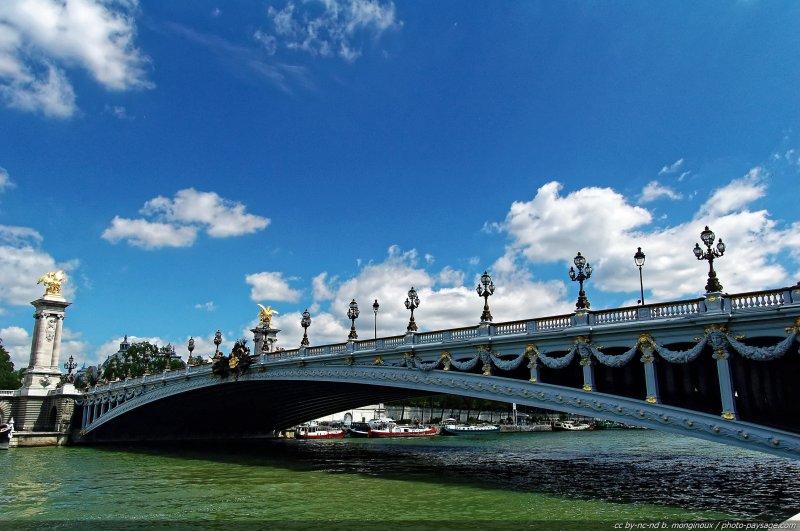 pont alexandre 3 affiche