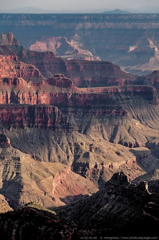 Pics et falaises dans le Grand Canyon - Parc National du Grand Canyon (North Rim), Arizona, USA