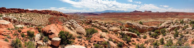 Salt Valley overlook  - (assemblage panoramique HD)