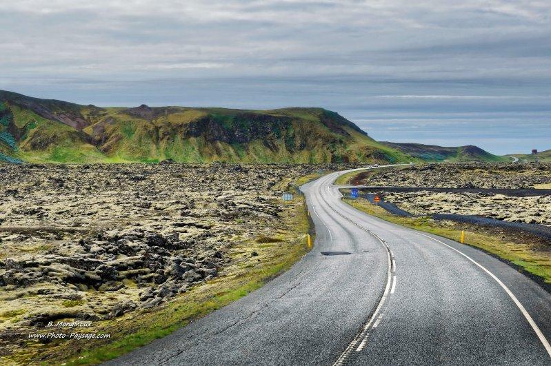 Une route en islande le blog de photo - Comment attenuer le bruit d une route ...
