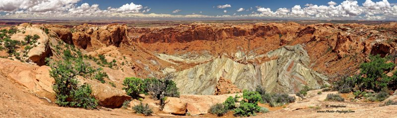 Upheaval Dome, Island in the Sky, Canyonlands National Park, Utah, USA