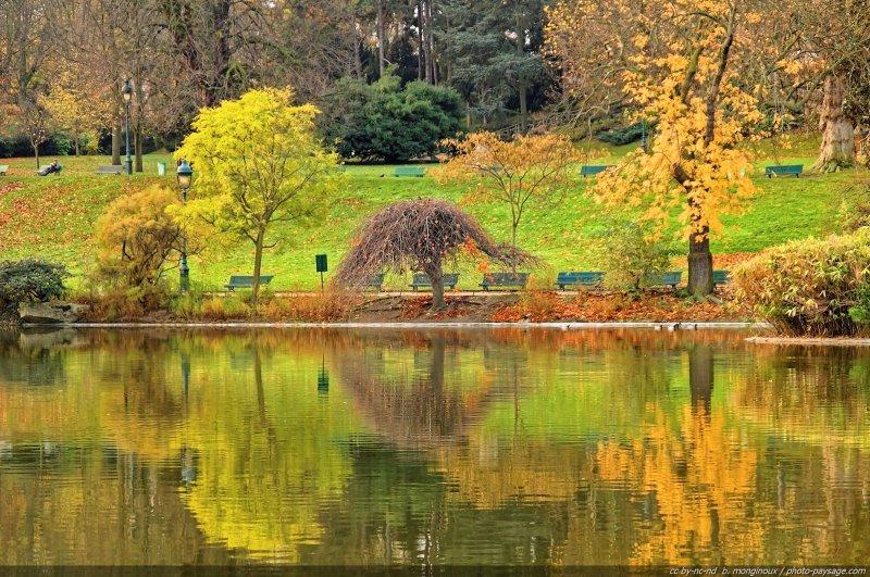 L 39 automne au jardin montsouris paris france for Jardins et espaces verts