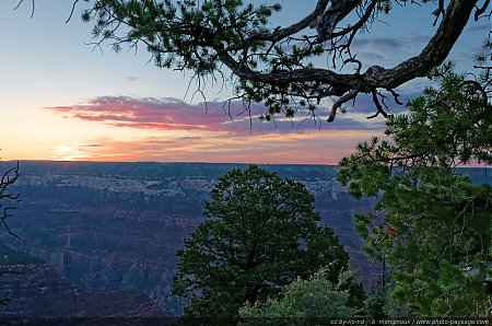Aube sur le Grand Canyon