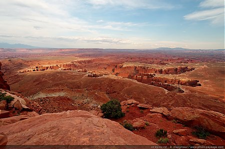 Monument Bassin vu depuis Grand View Point overlook