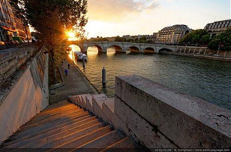 Couchers de soleil photo - Coucher de soleil sur paris ...