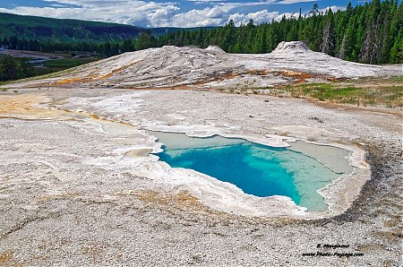 Heart Spring   (Upper Geyser Basin)