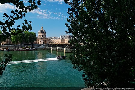L'institut de France et le Pont des Arts