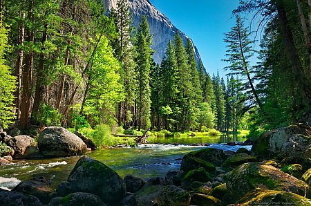 La Merced River