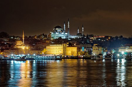 La Mosquee de Soliman - Istanbul by night
