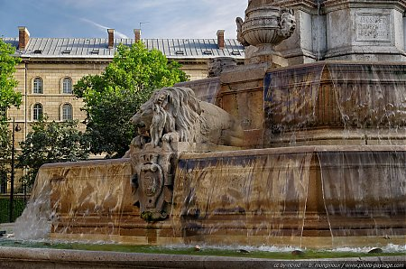 La fontaine Saint Sulpice