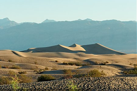 Les dunes de sable Mesquite Sand Dunes