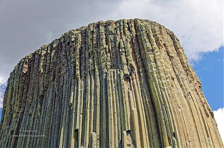 Les falaises de la Devils Tower