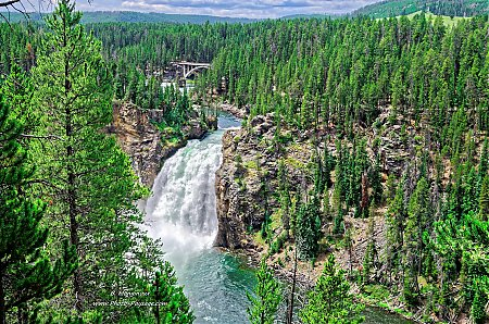 Les upper falls, Yellowstone