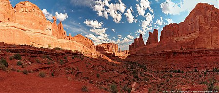 Park Avenue, vue d'ensemble panoramique
