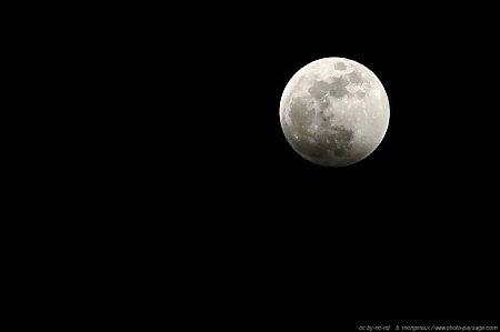 fond d'ecran lune