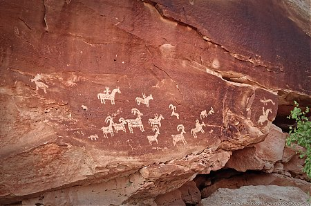 Ute Rock Art, pétroglyphes amérindiens