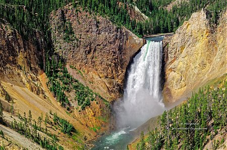 Yellowstone, les Lower Falls