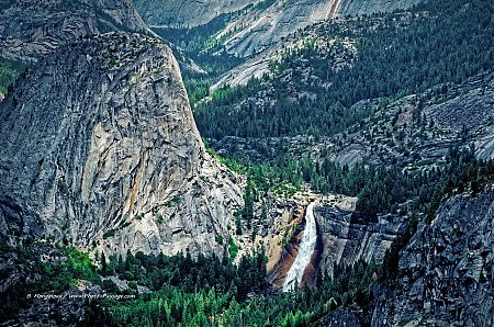 Yosemite   la cascade de Nevada falls