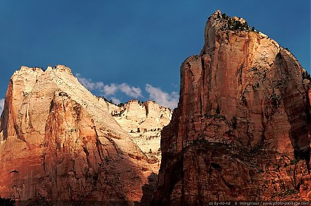 Zion - Abraham Peak & Isaac Peak