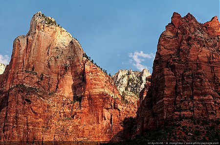 Zion - Isaac Peak  & Mount Moroni