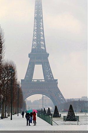 Paris Sous La Neige Photo Paysage Com Photo Paysage Com