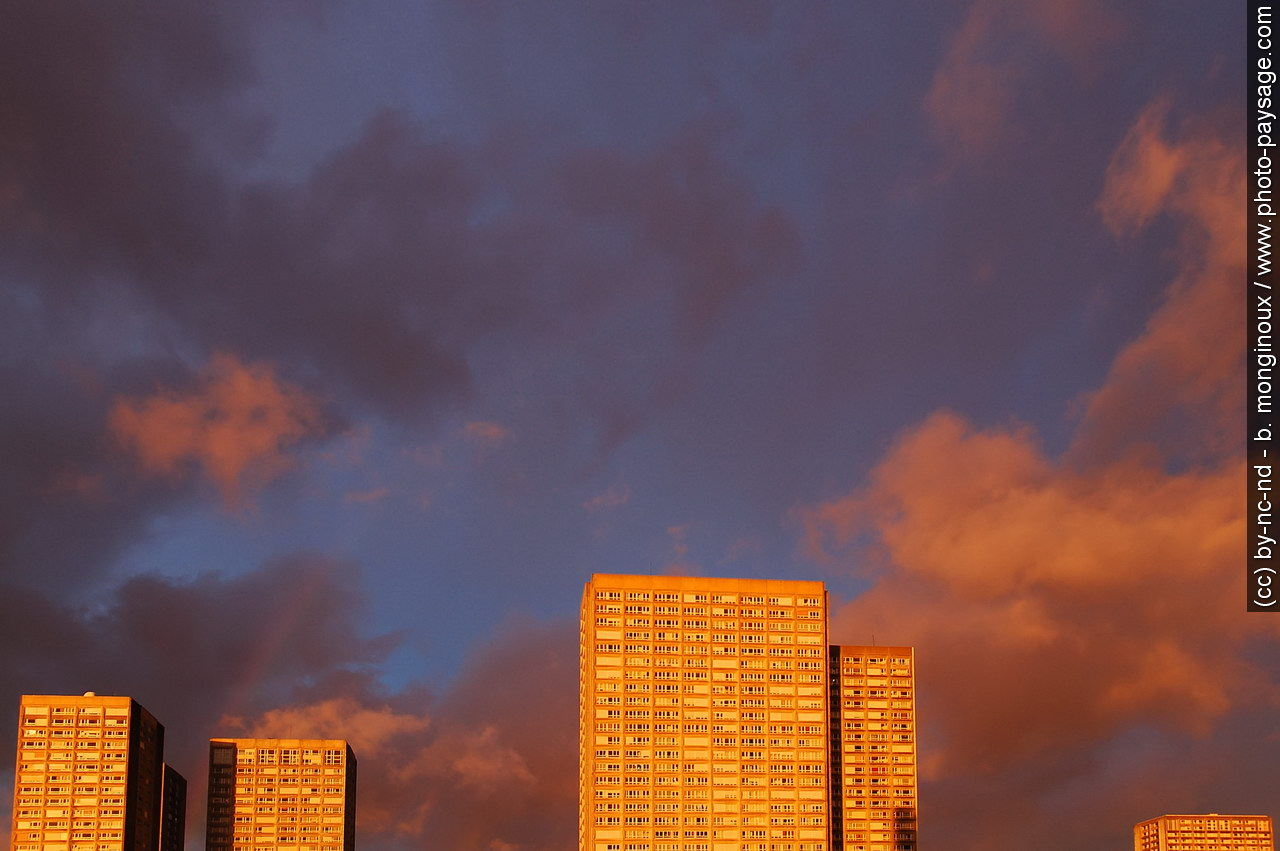 Paris paysage du xiii eme arrondissement photo paysage for Paris paysage